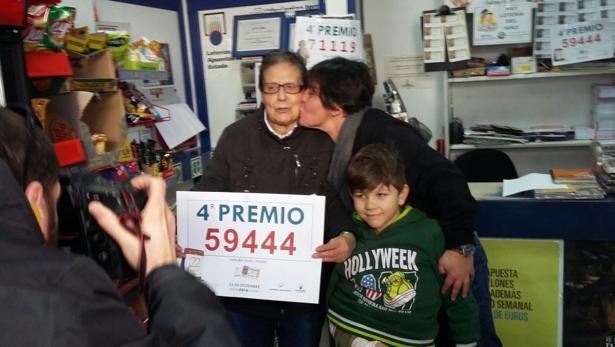 Lotería de Navidad: el 59444, agraciado con el primer cuarto premio ...