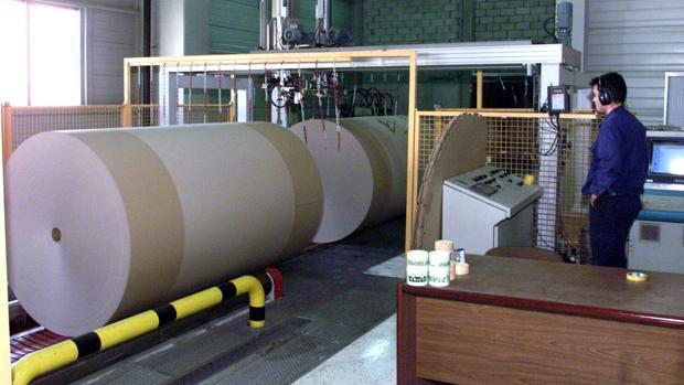 Instalaciones de Saica en una de sus fábricas aragonesas