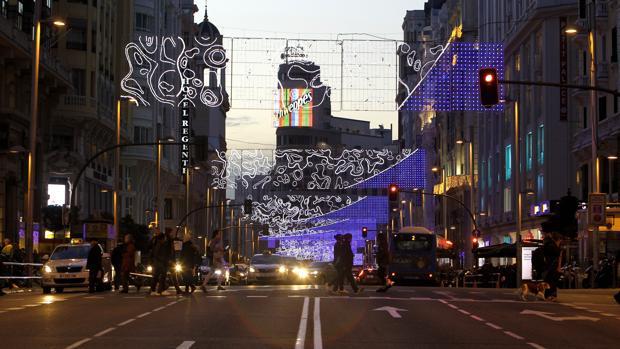 El corte de la Gran Vía ha sido uno de los motivos de polémica en estas navidades