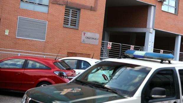 Imagen del domicilio de la víctima de Rivas Vaciamadrid