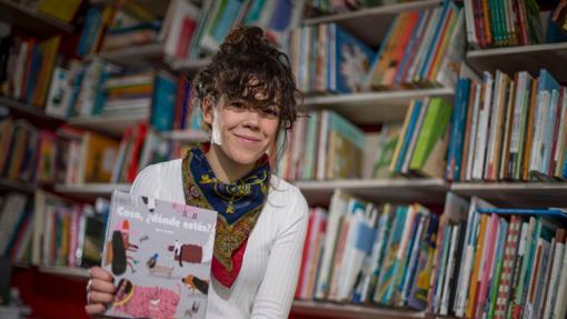 Cinta Arribas, con su libro «Coco, ¿dónde estás?»