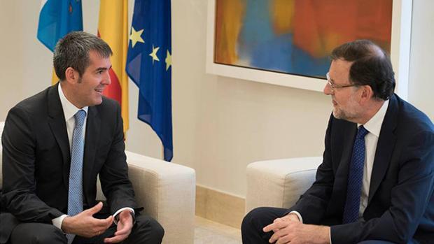 El presidente canario negociará acuerdos con el PP de Canarias
