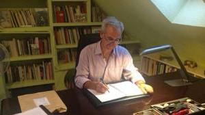 José Luis Morante, en su despacho