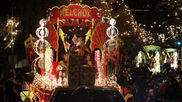 Los Reyes Magos a su paso por Toledo el pasado año