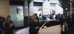 Una multitud de radicales recibe entre vítores a un etarra en San Sebastián