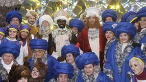 Los Reyes Magos de Madrid recuperan su aspecto 'real'