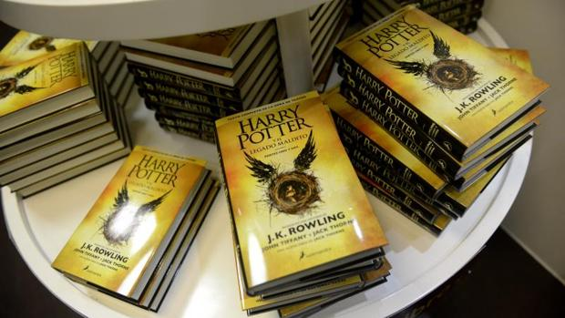 Varios ejemplares de Harry Potter