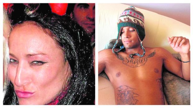 La víctima, Matilde Teresa de Castro Hernández, de 40 años; y el presunto asesino, Nelson Enrique Parra, de 20