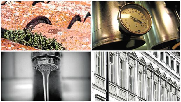 Las cubieras, los sistemas de agua y calefacción y las ventanas determinan la eficiencia de las casas
