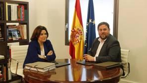Junqueras reclamará a Santamaría el referéndum en la reunión que mantendrán hoy en Barcelona