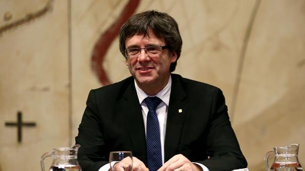 Imagen del presidente de la Generalitat de Cataluña, Carles Puigdemont