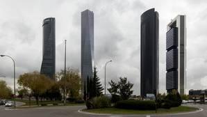 los rascacielos ms altos del skyline de madrid