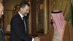 El Rey llega a Arabia Saudí tras los dos viajes frustrados