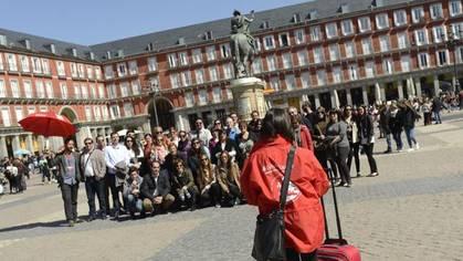 Los turistas gastan en Madrid un 52 por ciento más que la media de España