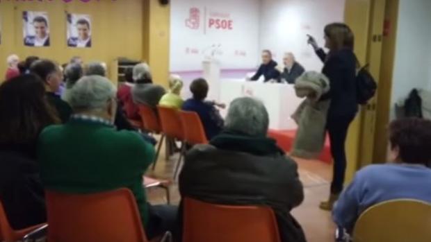 Hemeroteca: Soraya Rodríguez se va de una charla con militantes por llamarla «traidora» | Autor del artículo: Finanzas.com