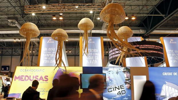 Imagen del stand del Oceanogràfic