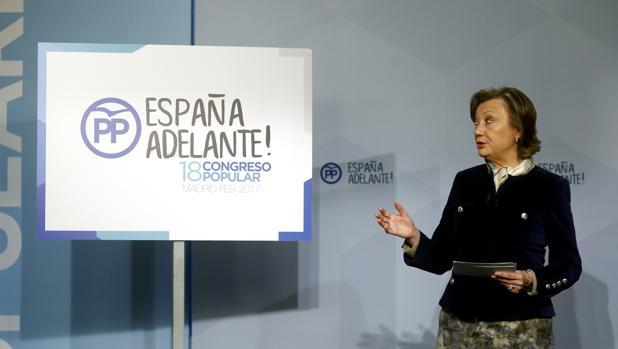 Luisa Fernanda Rudi presenta esta mañana el lema del Congreso