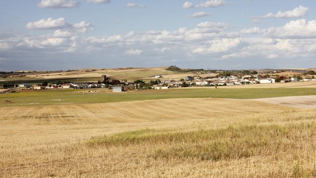 Terrenos donde está previsto construir el ATC de Villar de Cañas