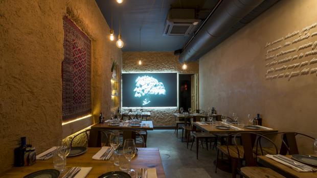 Sala del restaurante Arima