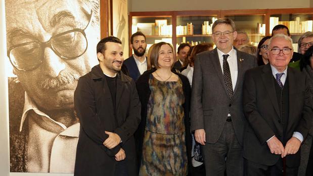 Imagen de la inauguración del Espai Joan Fuster tomada este miércoles en Sueca