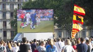 La Selección Española en Barcelona, el partido maldito
