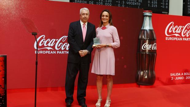 Sol Daurella, presidenta de de Coca - Cola European Partner, la mayor embotelladora europea de Coca-Cola