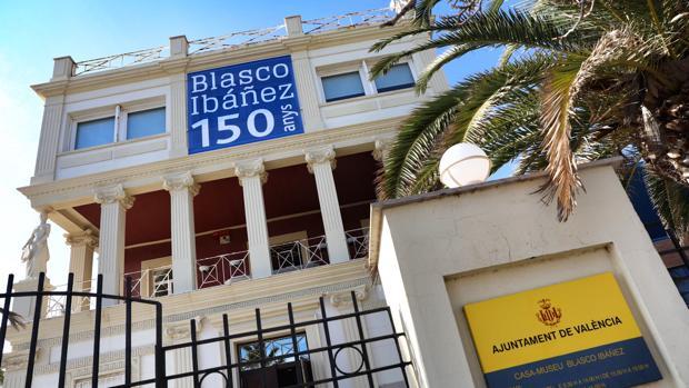 Imagen de la casa-museo de Vicente Blasco Ibáñez en Valencia