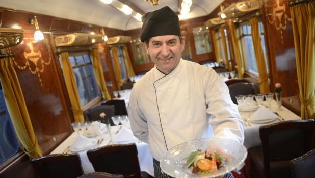 Gastrorail el lujo de comer a bordo de un vag n for Restaurante puerto rico madrid