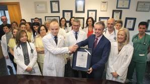 La unidad de hospitalización del servicio de cardiología del CHUS recibe el certificado de calidad AENOR
