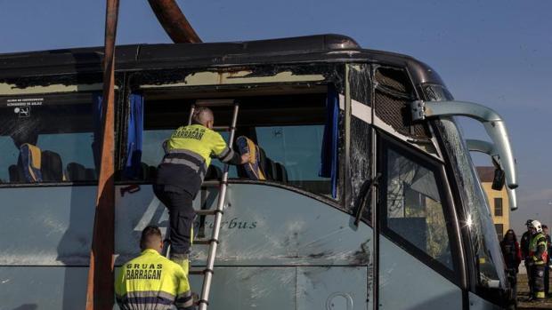Imagen de archivo del autobús siniestrado