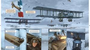 El Salón del Cómic alza el vuelo entre aviones reales y superhéroes descontrolados