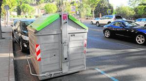 Hasta la fecha, los contenedores están vetados en el casco toledano y la alcaldesa Tolón quiere que así siga siendo