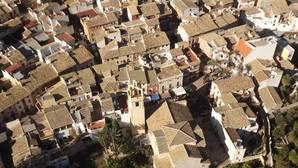 Vista panorámica de Orxeta (Alicante)