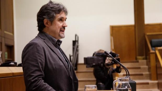 El portavoz de EH Bildu en el Parlamento, Pello Urizar