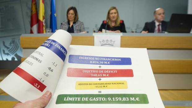 Del Olmo explicó el nuevo techo de gasto durante el Consejo de Gobierno