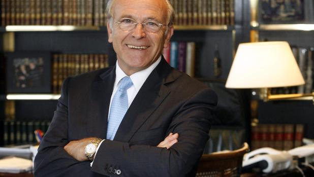 El presidente de La Caixa y Gas Natural Fenosa, Isidro Fainé