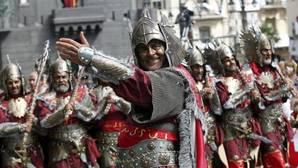 Una Entrada en las fiestas de Moros y Cristianos de Alcoy