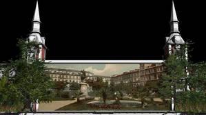 Un baile de máscaras y un vídeo en 360 grados para abrir el IV centenario de la Plaza Mayor
