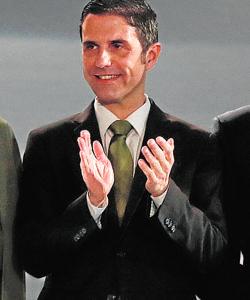 Javier Rodríguez Palacios, número 2 del PSOE-M
