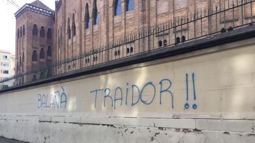 Pintadas contra Balañà