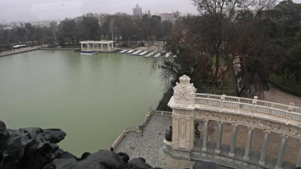 Las vistas desde el mirador de la estatua de Alfonso XII del Retiro