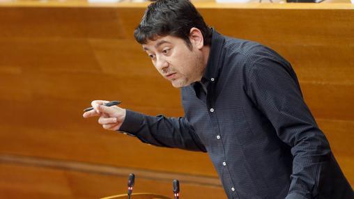 Josep Nadal, durante su intervención