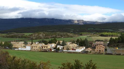 Panorámica de Javier (Navarra)