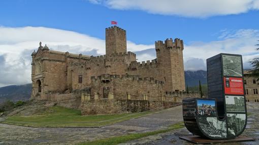 Castillo de la localidad de Javier, en Navarra