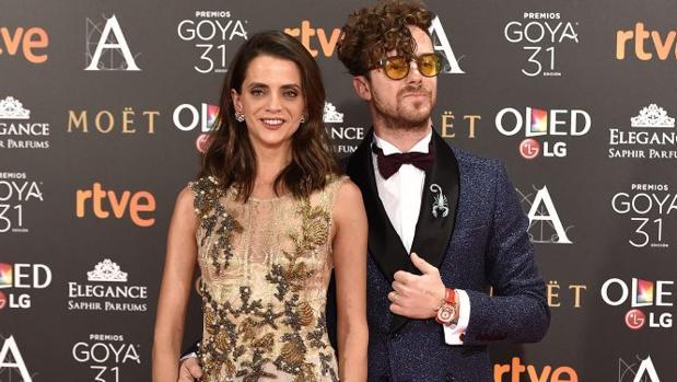 Macarena Gomez y Aldo Comas, en la gala de los Goya