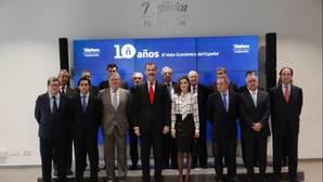 El Rey defiende que el español «es un activo tan estratégico como los recursos naturales»