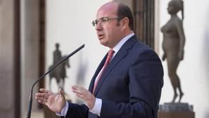 La causa contra el presidente de Murcia enfrenta de nuevo a PP y Ciudadanos