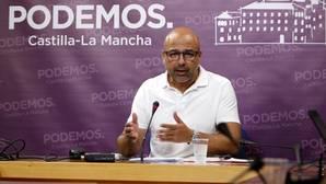 El secretario general de Podemos CLM, José García Molina