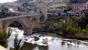 El Tajo, a su paso por Toledo