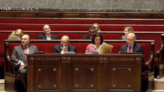 Los concejales del PP de Valencia, en una imagen de archivo